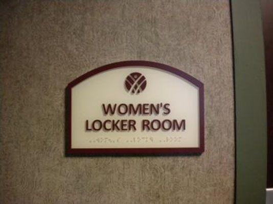 Locker Room Signs Rochester NY