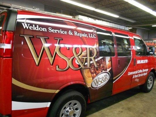 Full vehicle wrap Rochester NY