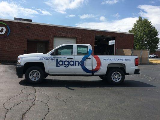 Company Truck vehicle graphic design Rochester NY