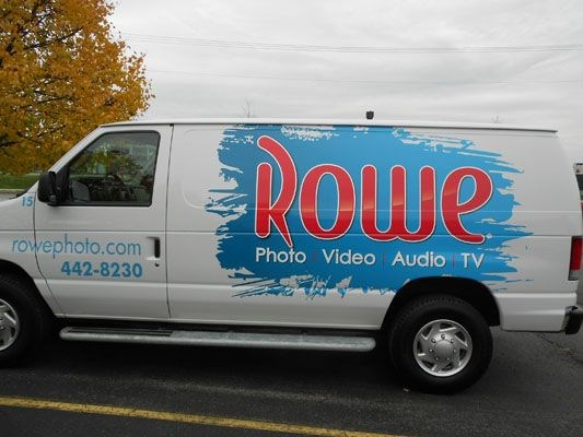 Company van wrap design Rochester NY