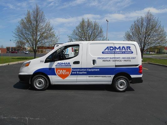 Van vehicle design and graphics Rochester NY