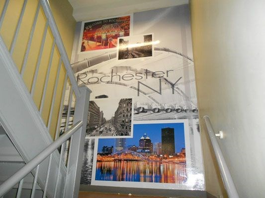 Wall graphics and murals Rochester NY