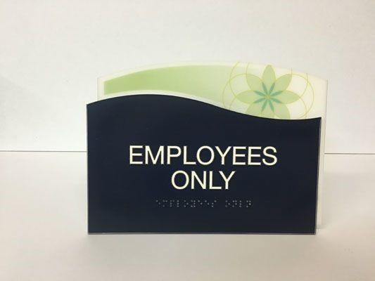 ADA Employee sign Henrietta NY