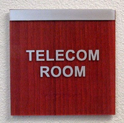 ADA office signage room name example Rochester NY