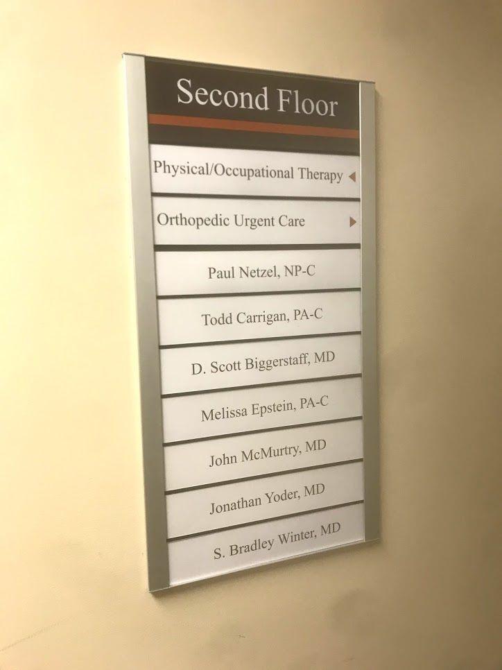 Directory and Wayfinding Signage | Winston-Salem, NC