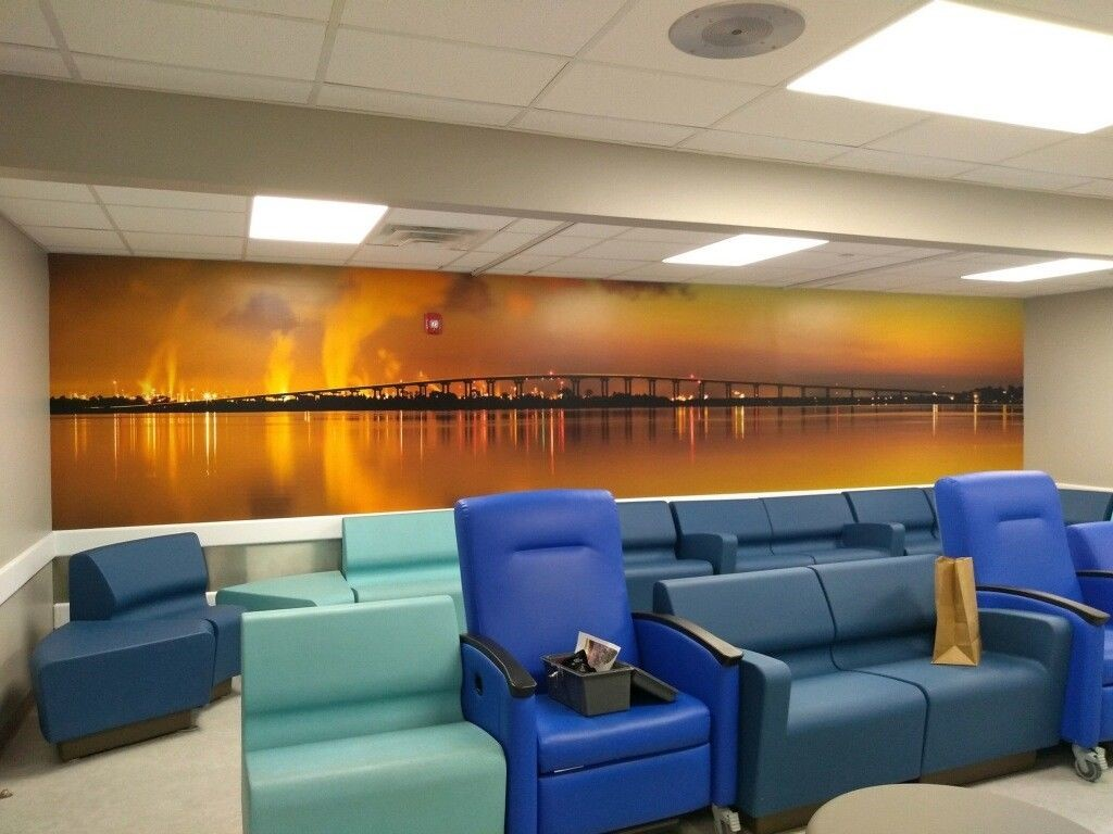 Lake Charles Memorial Hospital, Wall Graphics, Murals, Wallpaper | Decals, Wraps & Lettering | Hospital & Healthcare Signs | Lake Charles, LA