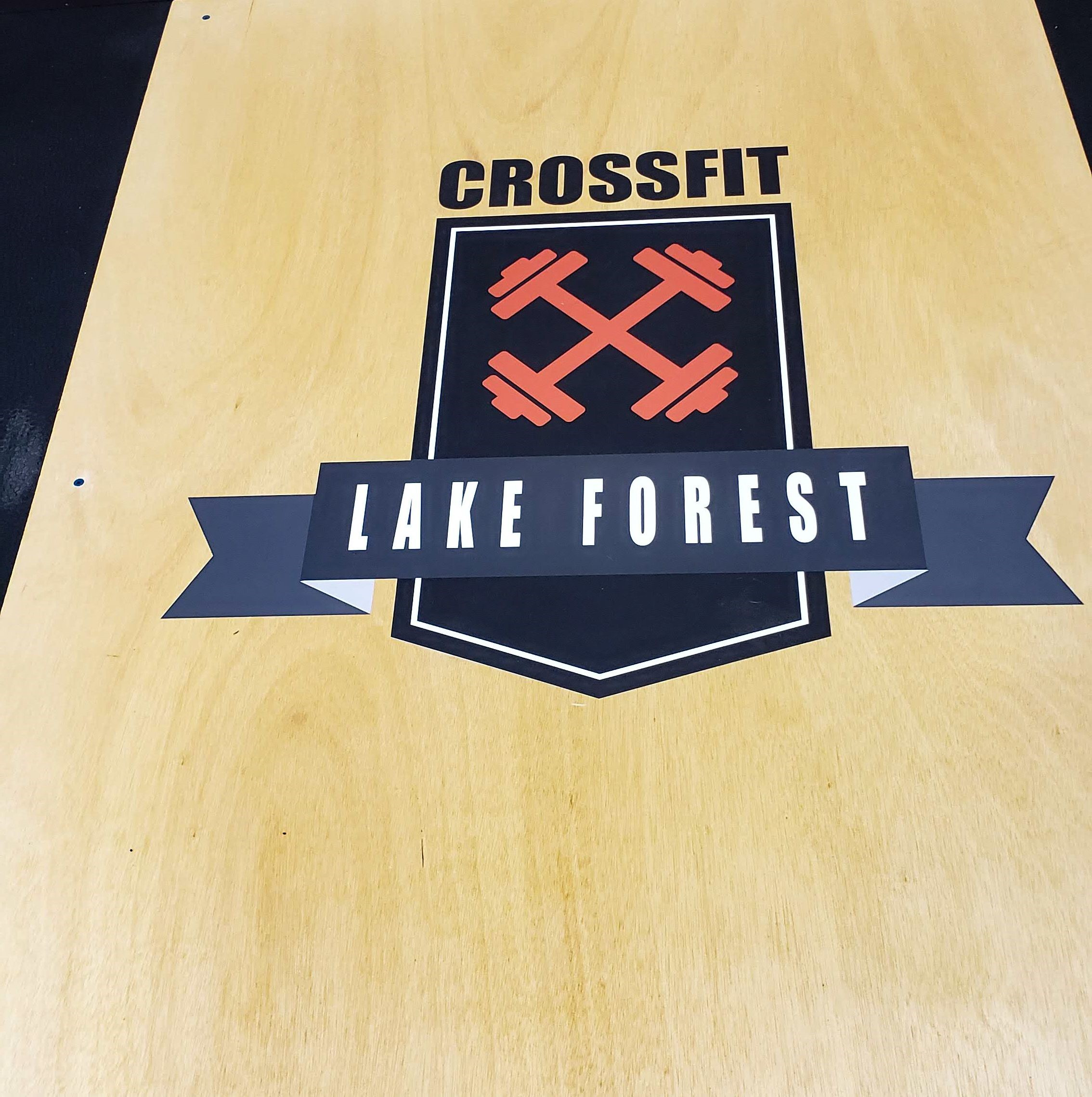 Ceiling & Floor Graphics | Gyms, Health Clubs, Fitness Facilities | Lake Forest IL