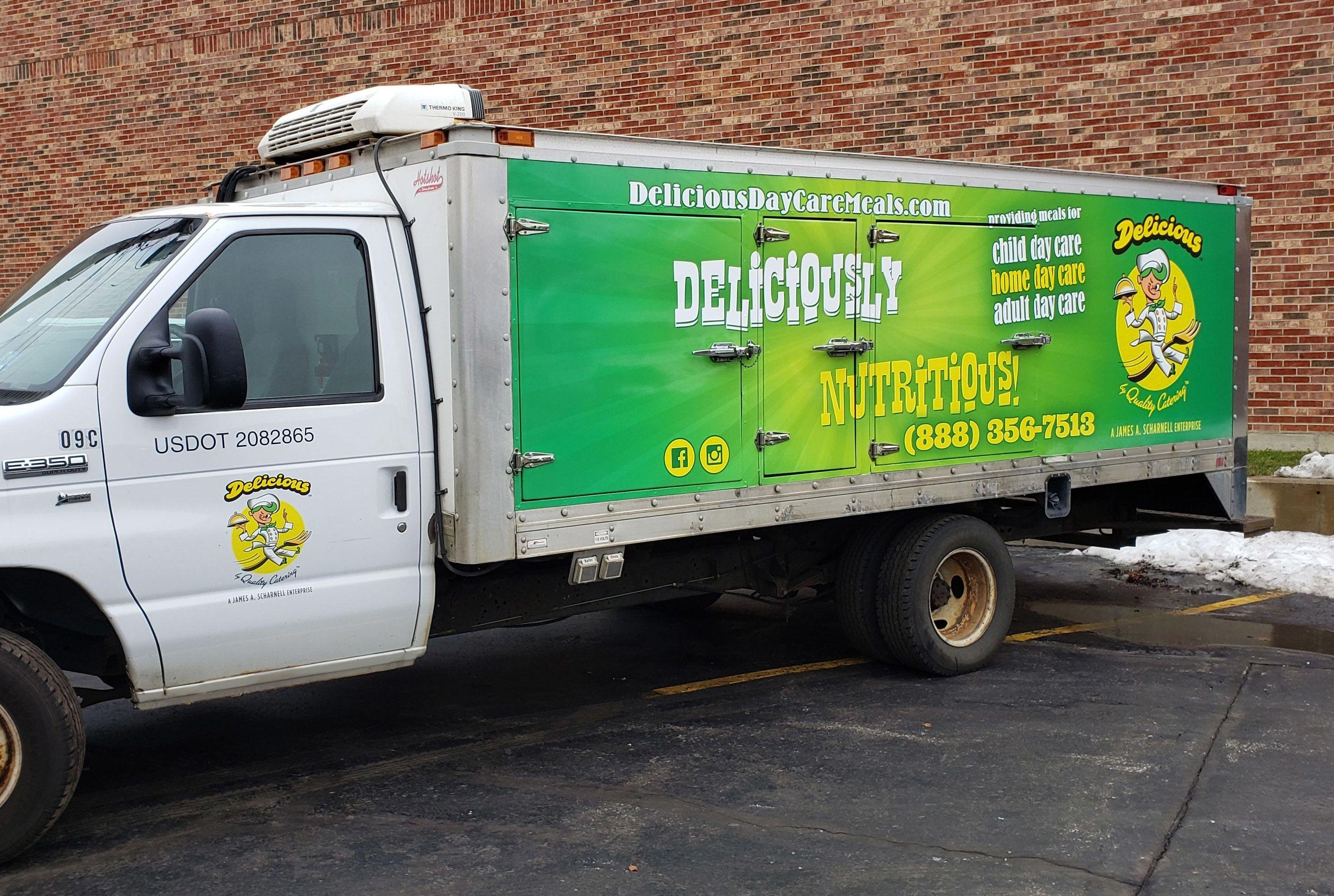 Vehicle Logo Graphics & Lettering | Fleet Graphics & Wraps | Food Service Signs | Truck wraps Gurnee, IL