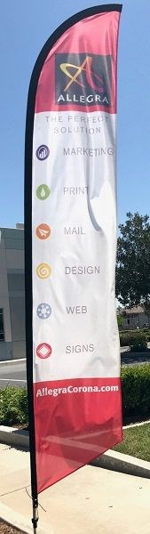Flutter Flags & Feather Banners
