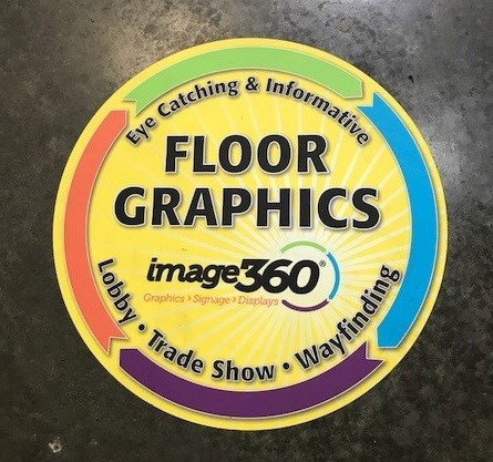 Custom Floor Graphics for Image360 Corona, CA