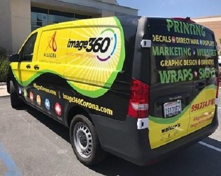 Custom Full Wrap for Image360 Corona, CA