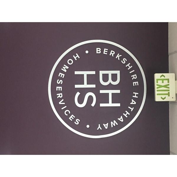 Wall vinyl for Berkshire Hathway Homeservices