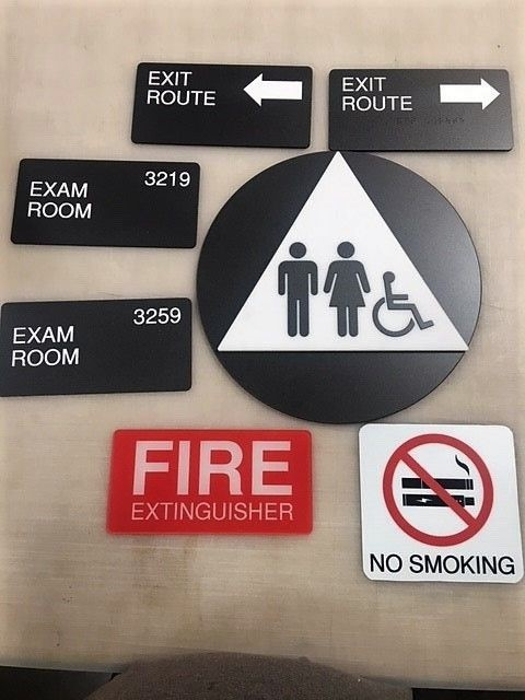 ADA Signs, Disability Signs, Indoor Signage, Corona CA