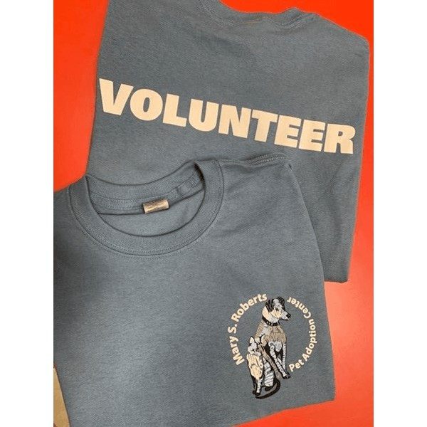 Custom shirts for Mary S. Roberts Pet Adoption Center in Corona, CA