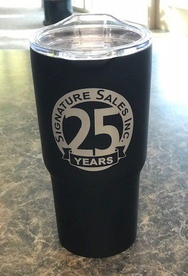 Signature Sales 25 Years Insulated Cup