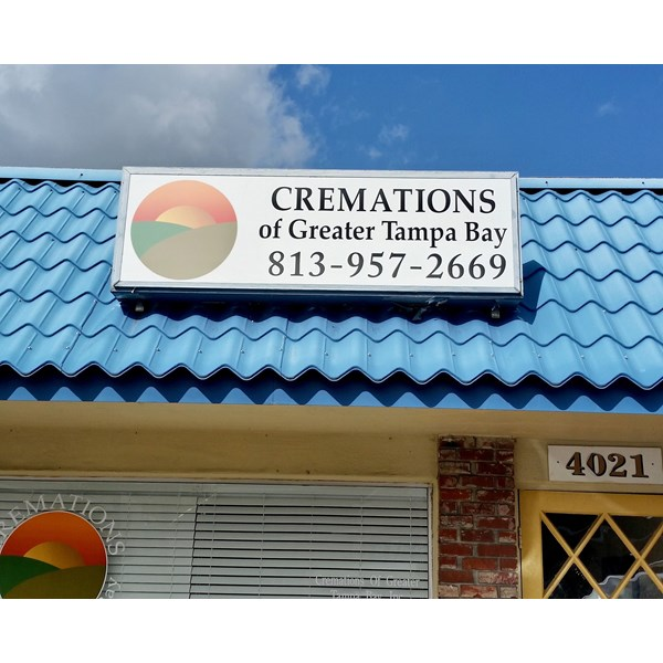 Custom Plastic Sign Face with Translucent Vinyl Graphics in South Tampa