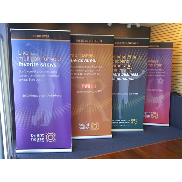 2-sided Retractable Banner Stand