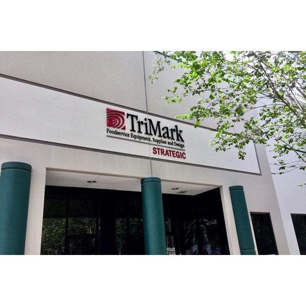 Custom Outdoor Dimensional Letters for TriMark in North Tampa