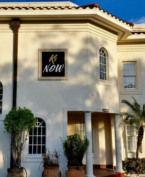 Custom Sand Blasted Exterior Sign in South Tampa