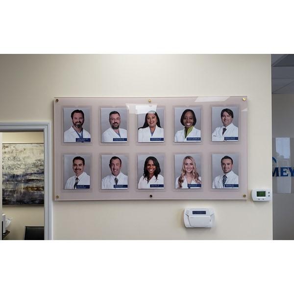 Custom Acrylic with Photo Holders