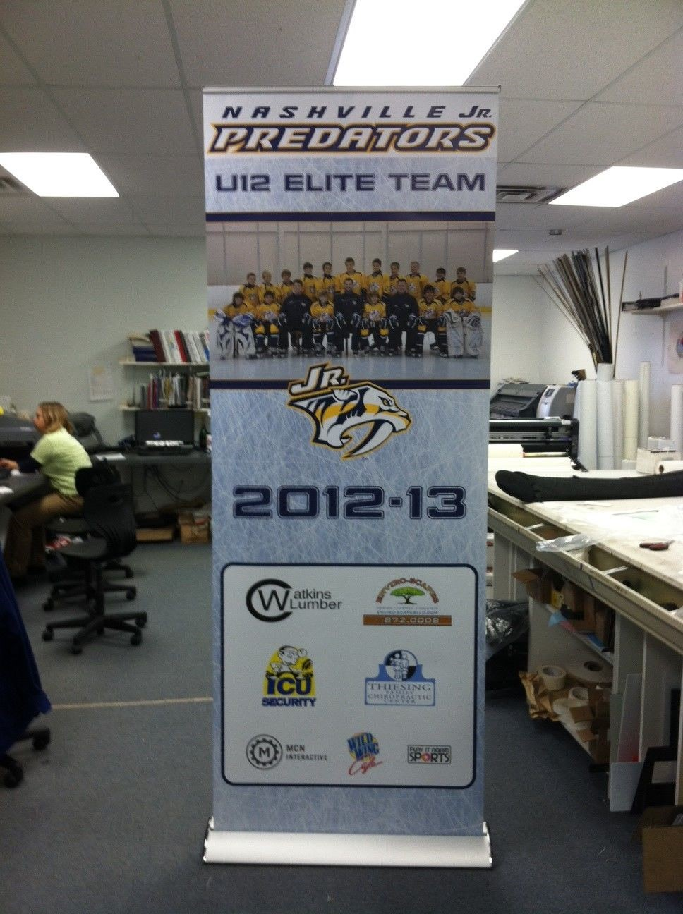 Fabric & Vinyl Indoor Banners | Convention & Exhibit Signs | Sports Venue & Stadium Signage | brentwood tn