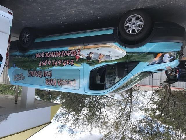 Full Vehicle Wraps | Vehicle Logo Graphics & Lettering | Sports Venue & Stadium Signage | Tampa Ybor City, FL
